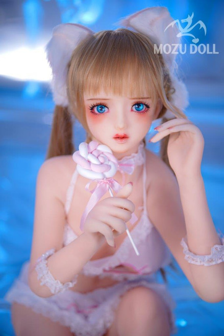 1/1 Scale Mozu Doll WHITE with Silicone Head and TPE Body [MOZU-2021002D]