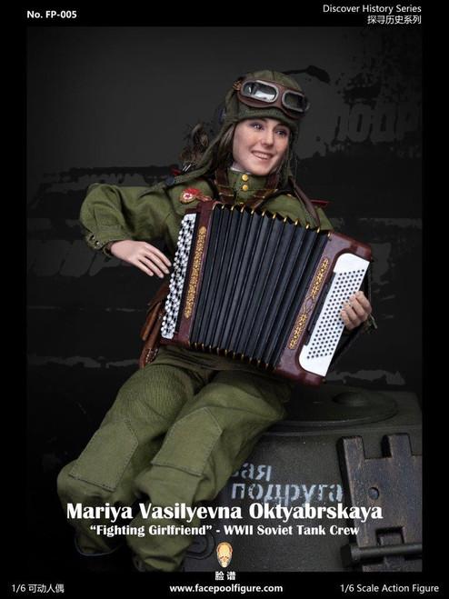 Facepoolfigure 1:6 Soviet Tank Driver Mariya Oktyabrskaya Special Edition [FP-005B]