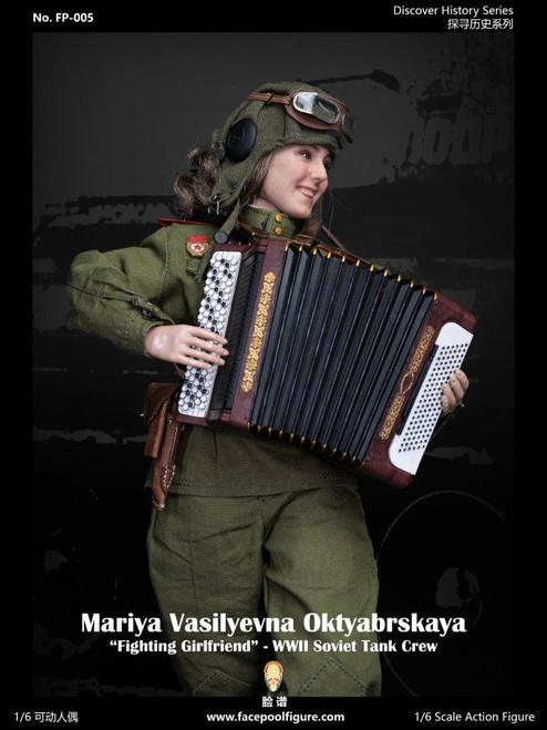 Facepoolfigure 1:6 Soviet Tank Driver Mariya Oktyabrskaya [FP-005A]