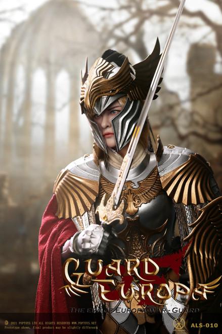 POP Toys 1/6 Female Eagle Knight Guard Silver Armor Version [POP-ALS010]