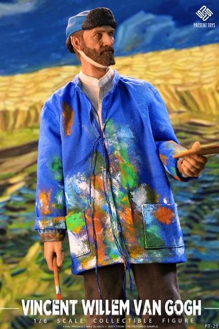 1/6 Present Toys Vincent Willem van Gogh Action Figure [PST-SP29]