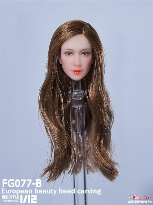 1:12 Fire Girl Toys European and American Female Flex Head Carving [FG-077B]