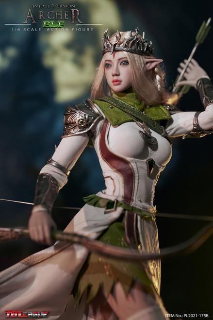 TBLeague Phicen 1/6 Elf Archer-White Figure [PL2021-175B]