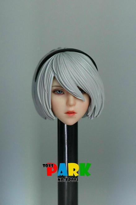 Toys Park 1:6 2B Girl Head for TBLeague Body [TSP-001]