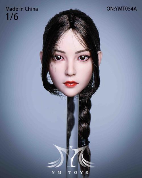 YM Toys 1/6 Real Hair Female Head [YMT-054]