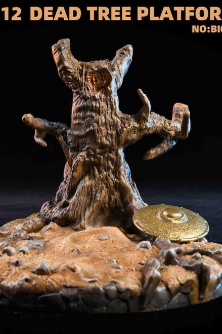 Big Smart Toys 1:12 Scale Dead Tree Platform [BI-002]
