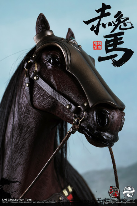 1/6 Red Horse, The Steed of Guan Yu 關羽  [303T-MP010]