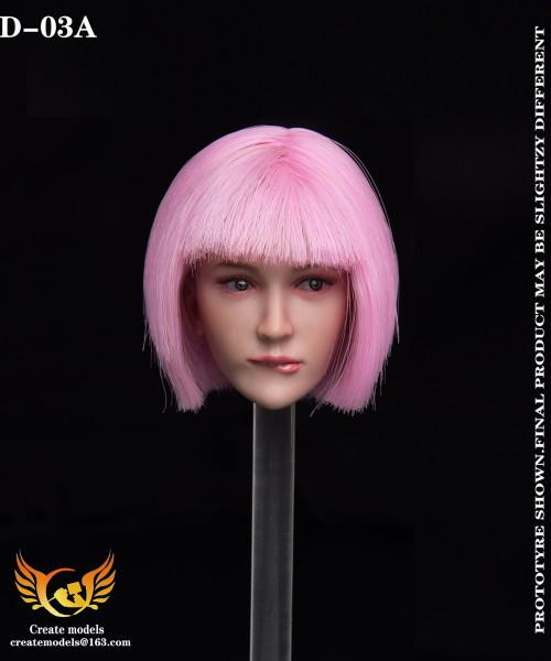 1/6 Create Models Sexy Female Head [CMD-D03]
