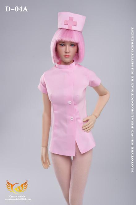 1/6 Create Models Sexy Nurse Clothing Set [CMD-D04A]
