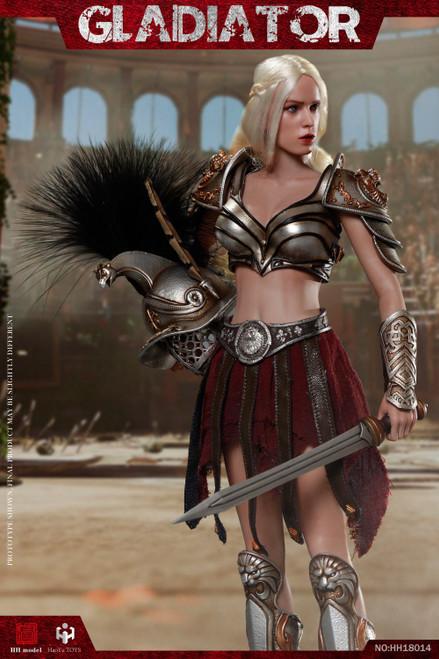 [HY-HH18014B] HH model X HaoYu Toys 1/6 Imperial Legion-Imperial Female Warrior Black