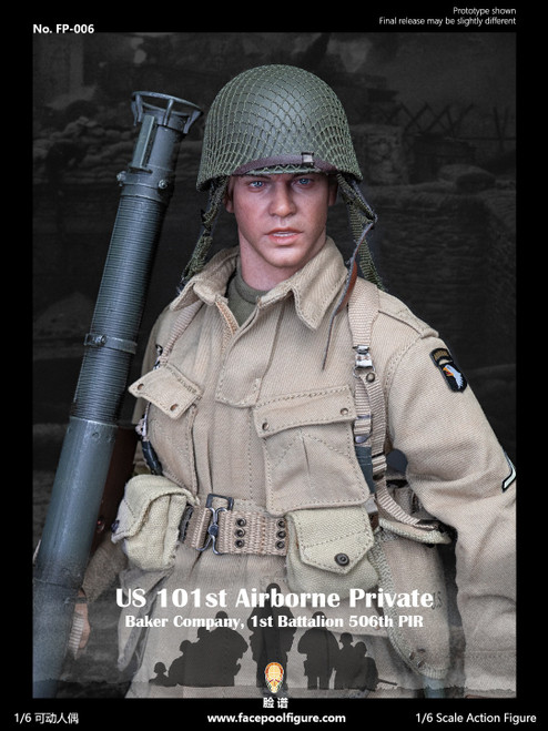 Facepoolfigure 1:6 US 101st Airborne Private Figure [FP-006]