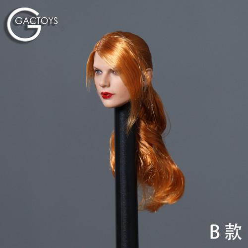 GACTOYS 1:6 Caucasian Women's Head Sculpt [GAC-042B]
