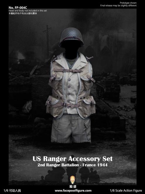 Facepoolfigure 1:6 US Ranger Accessory Set [FP-004C]