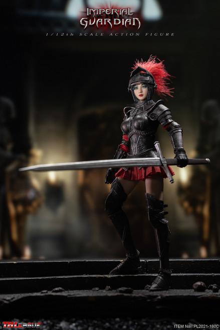 TBLeague 1/12 Black Imperial Guardian Female Figure [PL2021-180C]