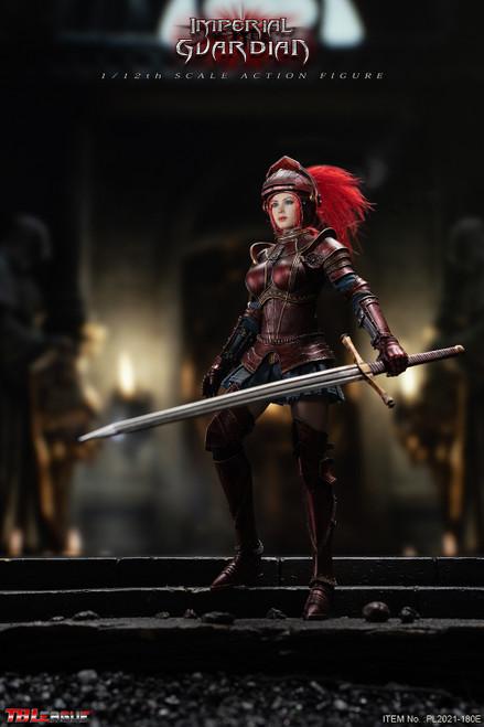 TBLeague 1/12 Red Imperial Guardian Female Figure [PL2021-180E]
