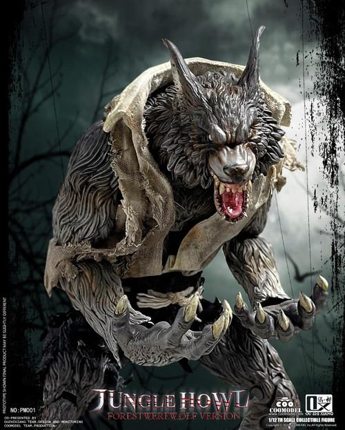 COO Model 1/12 Palmtop Monsters Jungle Howl Forest Werewolf Standard Version [CM-PM001]