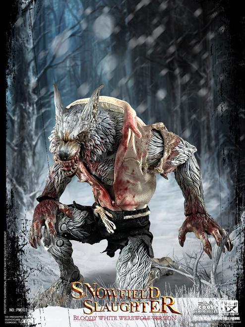 COO Model 1/12  Palmtop Monsters Snowfield Slaughter Bloody White Werewolf Standard Version [CM-PM003]
