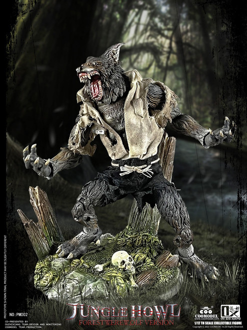COO Model 1/12 Palmtop Monsters Jungle Howl Forest Werewolf Deluxe Version [CM-PM002]