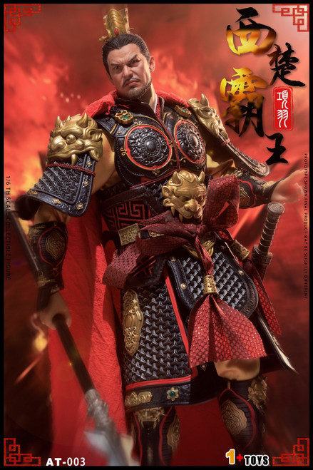 1+TOYS 1:6 Black Gold Xiang Yu Action Figure [OTS-AT003A]