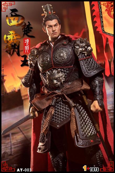1+TOYS 1:6 Black Bronze Xiang Yu Action Figure [OTS-AT003B]
