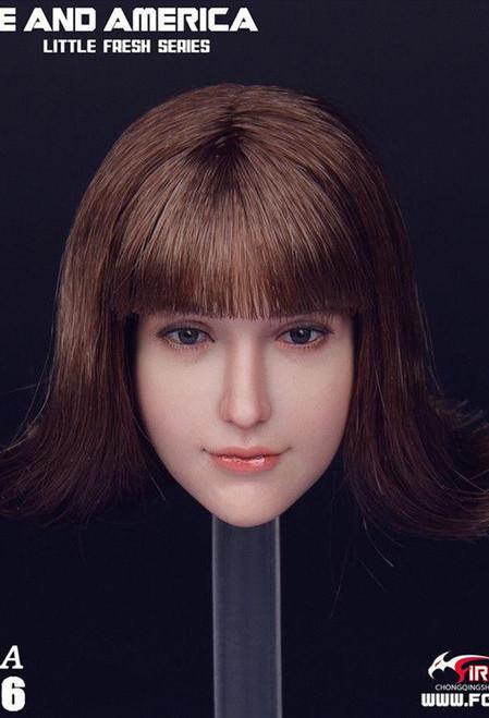 Fire Girl Toys 1/6 European American Head Sculpture [FG-066A]