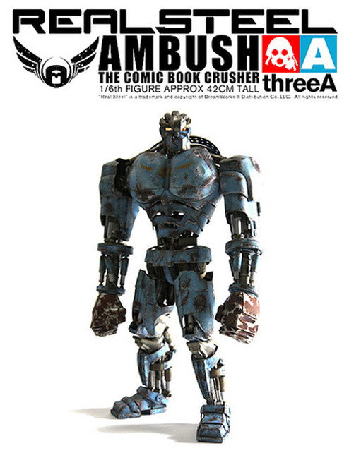 [3A-AMBUSH-RE] THREEA Real Steel Ambush Retail Version