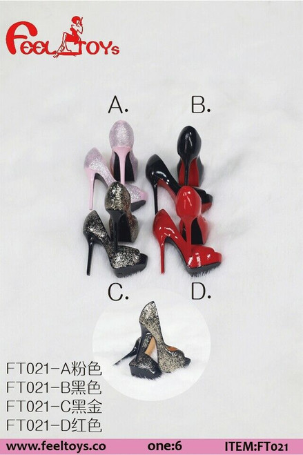 Feel Toys 1:6 Scale Female Exquisite High Heels [FT-021]