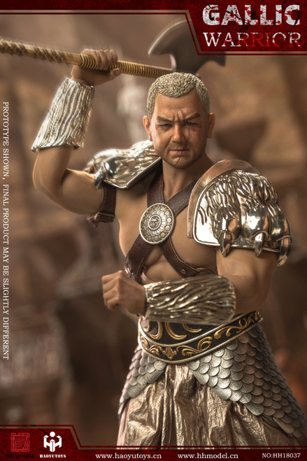 HaoYu Toys Imperial Army Hunting Ground Fighter Gaul Warrior Silver [HY-HH18036A]