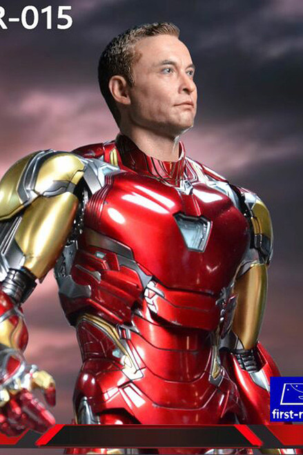 1/6 Action Figure Billionaire  Head by First-Rate [FR-015]