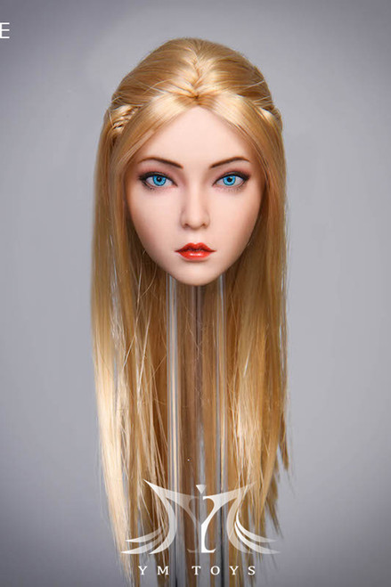 [YMT-029E] 1/6 Female Rosa Action Figure Head by YM Toys
