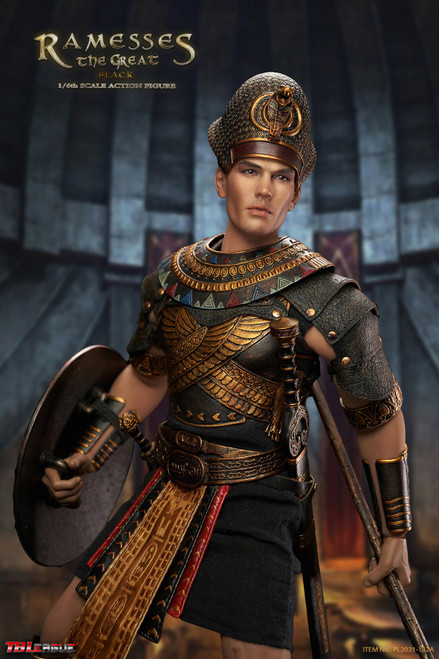 TBLeague 1/6 Egyptian Ramesses the Great Black [PL2021-182A]