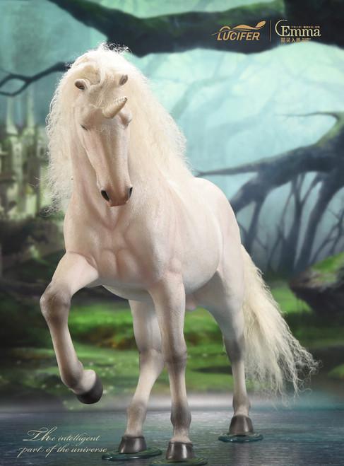 [LXF-1904BH] Elf Queen Emma Queen Version 1:6 Horse by Lucifer