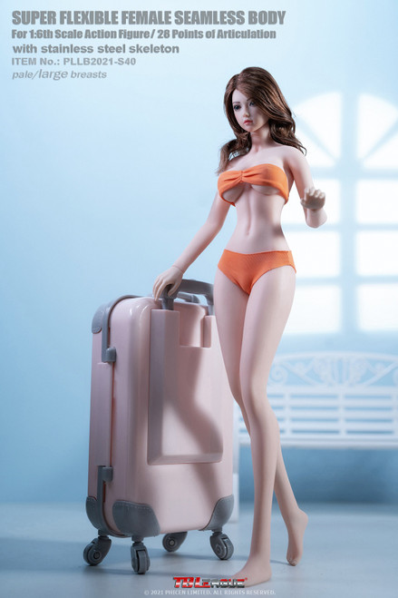 TBLeague 1:6 Seamless Bodies Tall and Slender Type with Head [PLLB2020-S40]