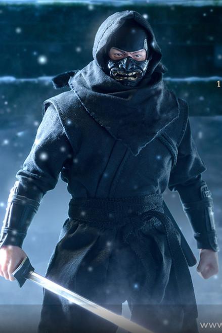 VTOYS X 6INCH 1:12 Shadow Ninja Black Figure [VSD-SN001]