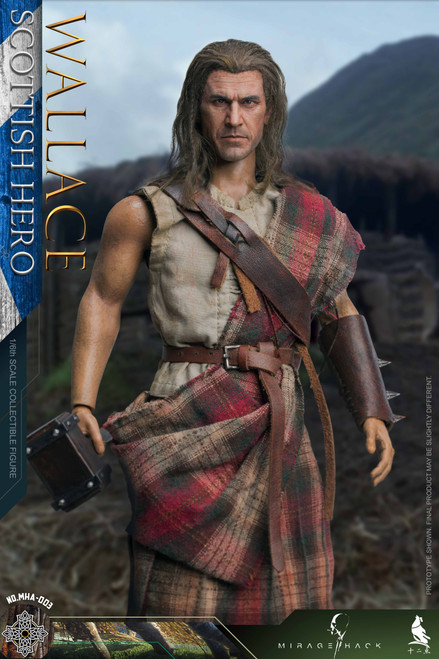 Mirage Hack & Twelve O'clock Scottish Hero Wallace Action Figure [MHA-003]
