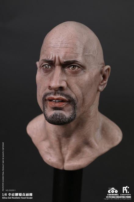COOMODEL X CHENTOYS Silica Gel Realistic Action Figure Head Sculpt [CM-SG001]