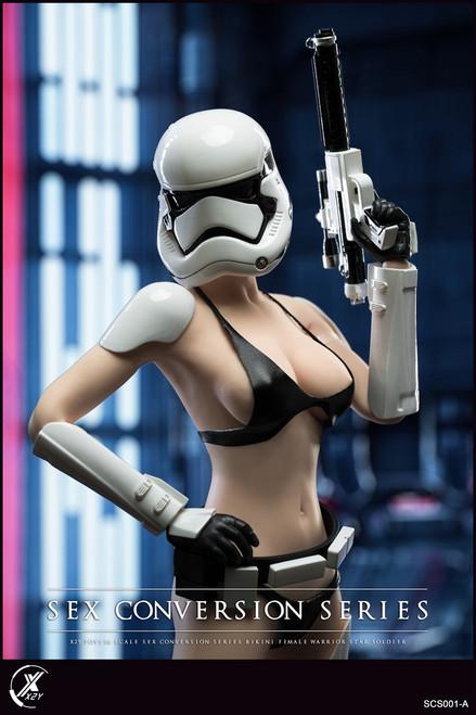 X2Y TOYS 1:6 White Bikini Female Warrior Star Soldier Conversion Set [X2Y-SCS001A]