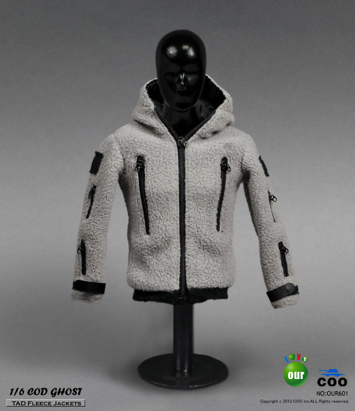 COOMODEL - GHOST TAD Fleece Jackets (CM-OUR601)