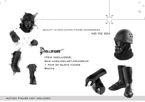 [CC-204] DOLLSFIGURE – Quality Action Figure Accessories