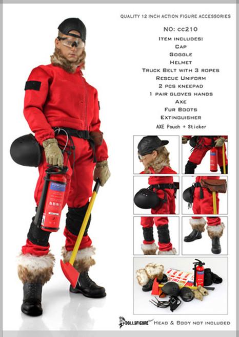 DOLLSFIGURE – Male Forester Uniform & Accessories Full Set (CC-210)