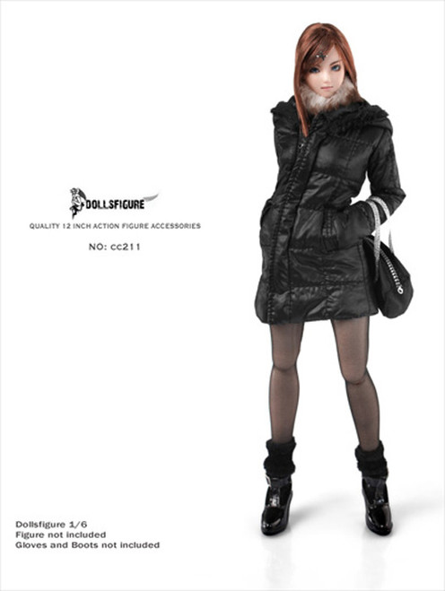 DOLLSFIGURE – Female Winter Hoodie Jacket & Accessories Set (CC-211)