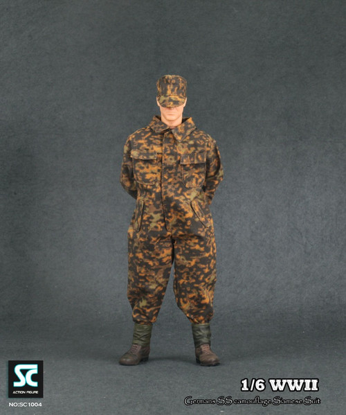 Soldier Country – WWII German SS Camouflage Siamese Suit (SC-1004)