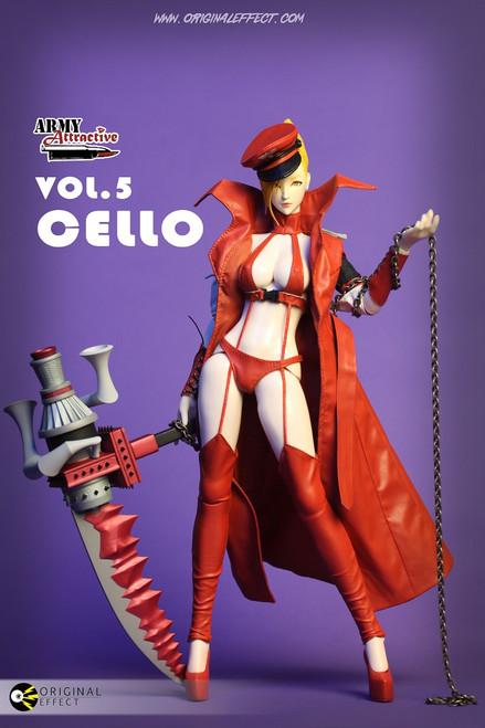 """ORIGINAL EFFECT – Army Attractive """"Cello"""" (OE-VOL05)"""