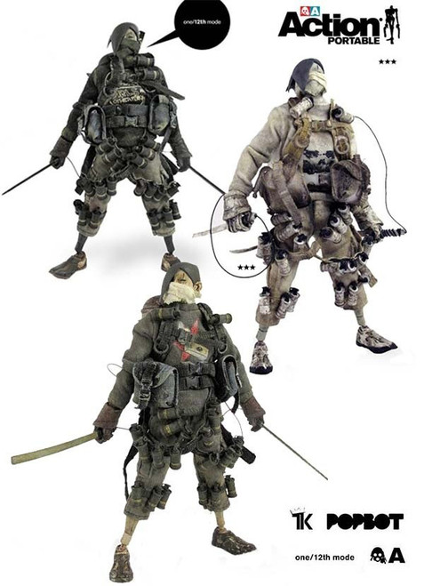 THREEA Action Portable Baka TK 3 Pack (3A-STK-3PACK)
