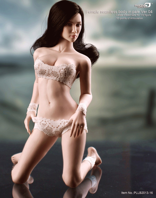 PHICEN LIMITED – Female Seamless Body in Pale/Large Bust Size Ver.04 (PL-MB2013-16)
