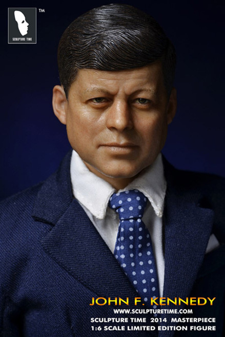 [ST-003] SCULPTURE TIME John F. Kennedy Limited Edition Figure