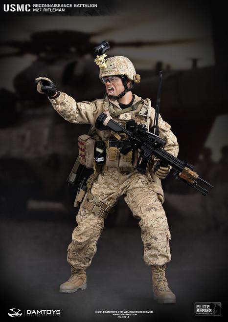 DAMTOYS - USMC Reconnaissance Battalion M27