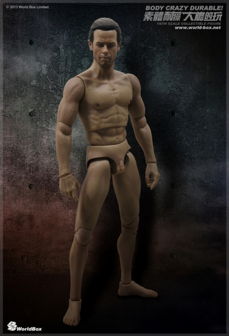 World Box Articulated Male Body