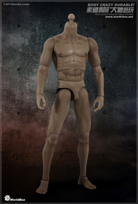 [WB-VT002] World Box Articulated Male Body without Head Version 2