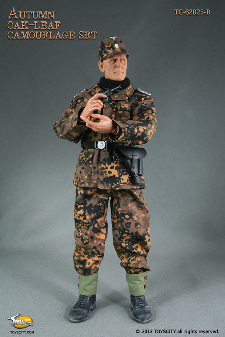 WWII German Camouflage – Autumn Oak-leaf